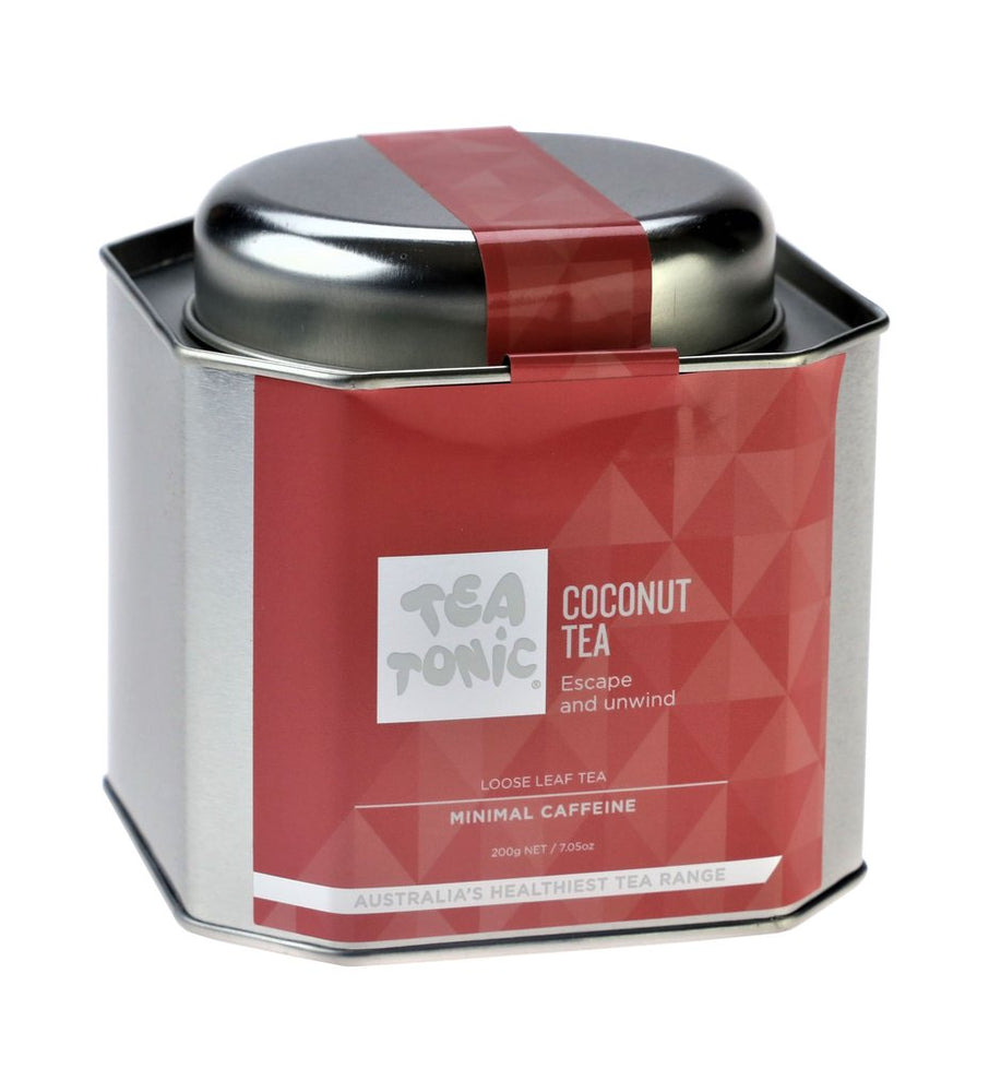 Coconut Tea Loose Leaf Caddy Tin - You Brewtea