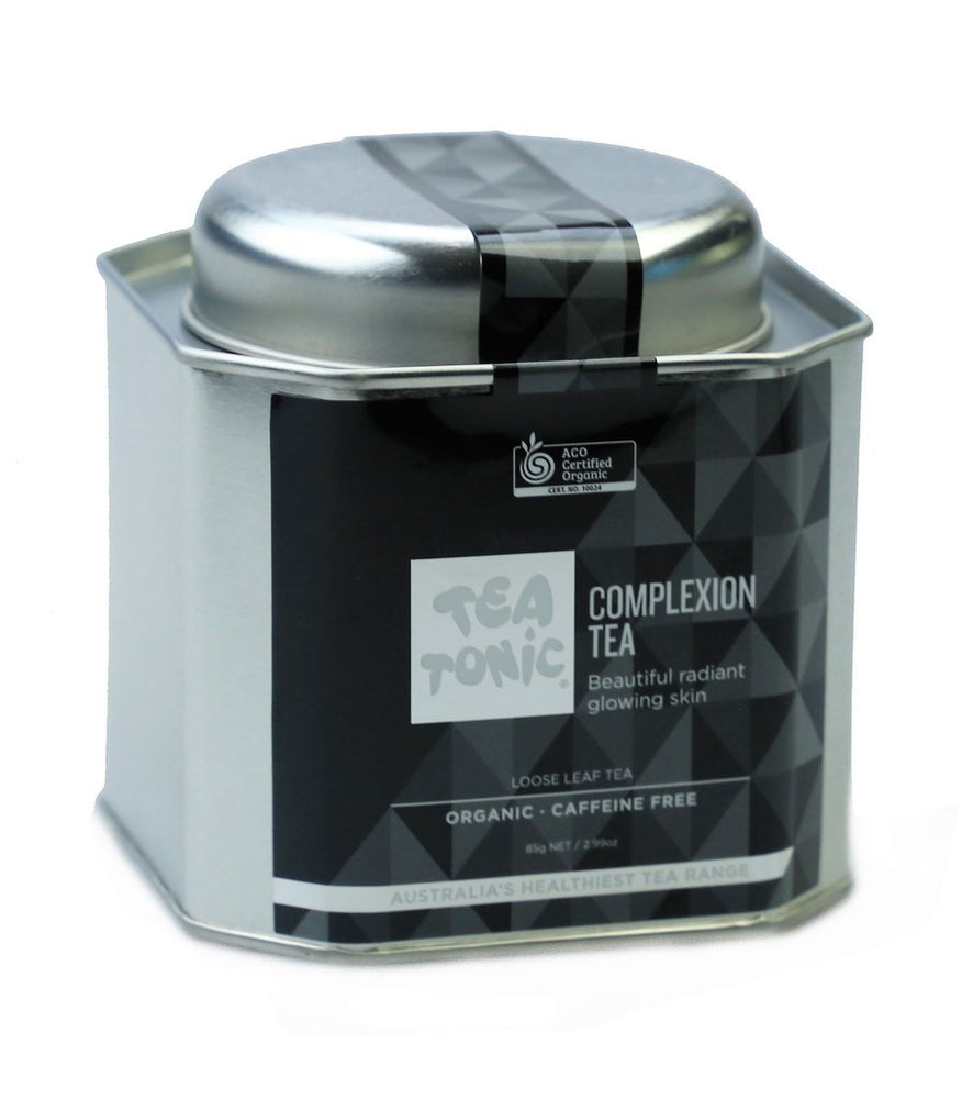 Complexion Tea Loose Leaf Caddy Tin - You Brewtea