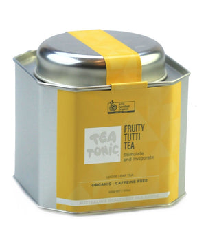 Load image into Gallery viewer, Fruity Tutti Tea Loose Leaf Caddy Tin - You Brewtea