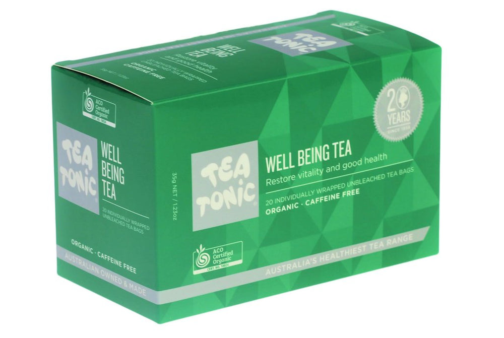 Well Being Tea Teabags - You Brewtea