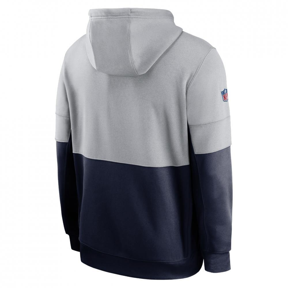 Nike New England Patriots Team Name Lockup kapucnis pulóver