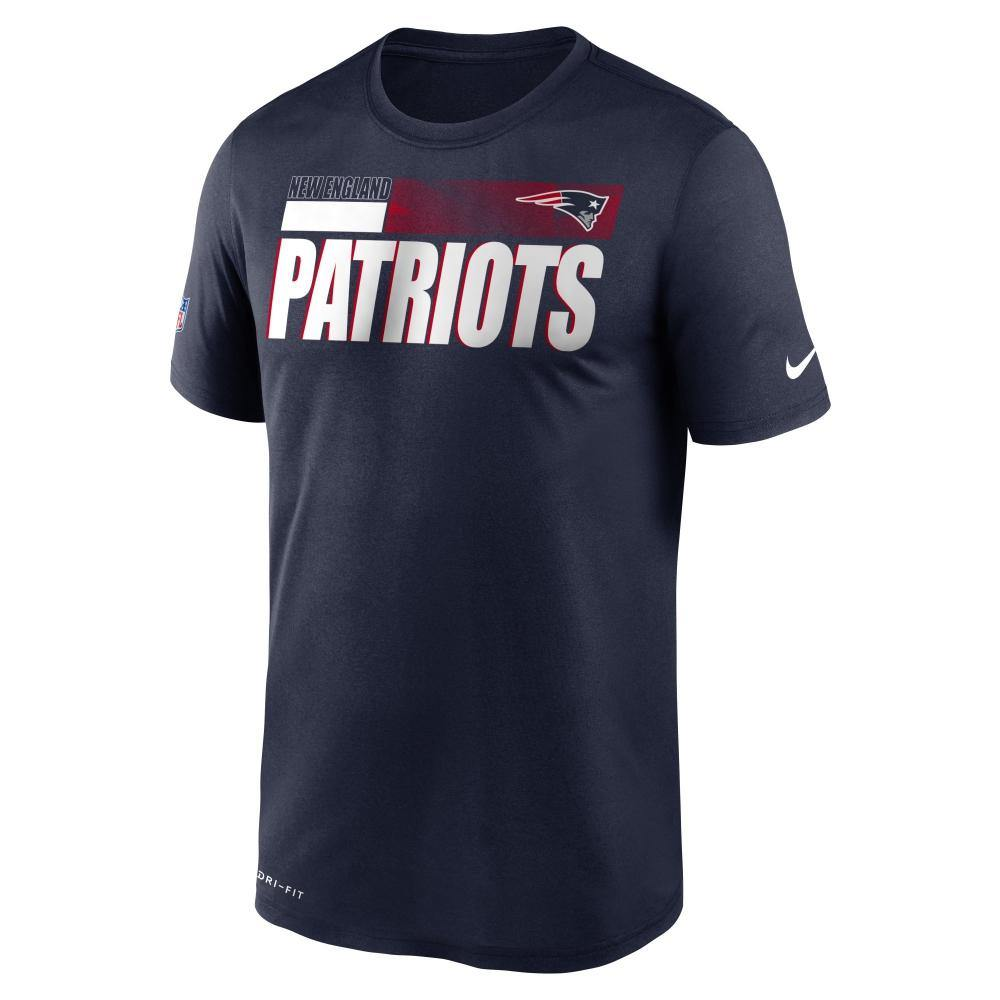 Nike NFL New England Patriots Team Name Legend Sideline póló, kék
