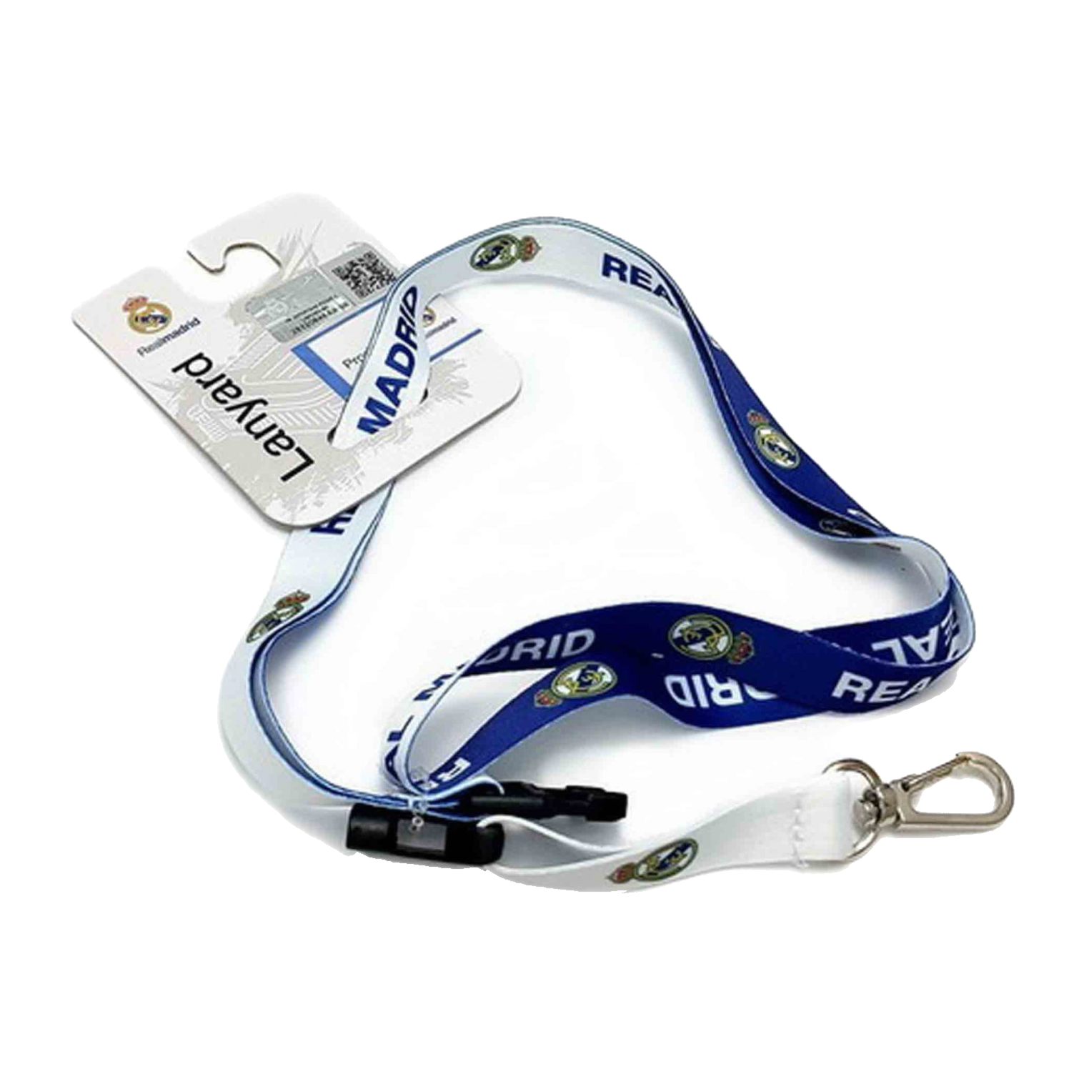 Real Madrid Team Color Lanyard nyakbaakasztó