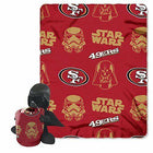 Star Wars X San Francisco 49ers polár takaró + Darth Vader plüss
