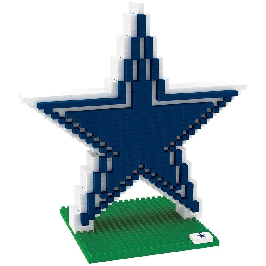 Dallas Cowboys 3D Logo Puzzle BRXLZ