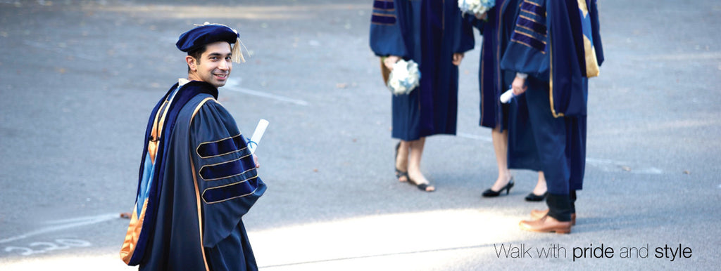 what to wear to doctoral graduation