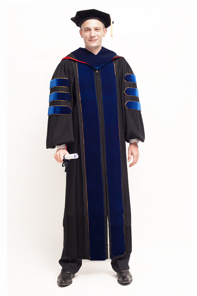 University of Wisconsin Madison PhD Regalia