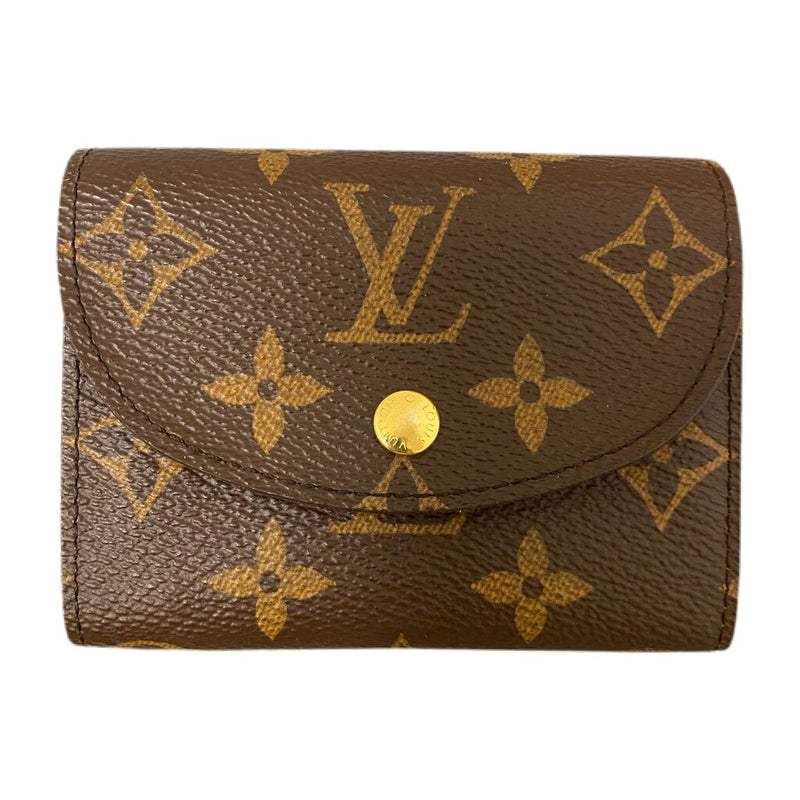 "Louis Vuitton ""Helene Wallet"" Monogram Canvas Wallet"