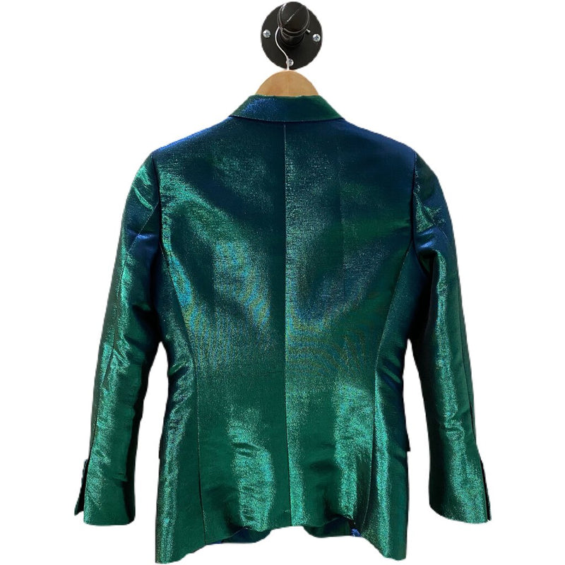 "Each x Other ""Holographic Tuxedo Jacket"" Blazer - Size XSmall"