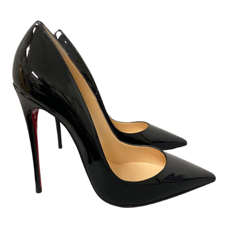 "Christian Louboutin ""So Kate 120 Patent"" Heels - Size 38"