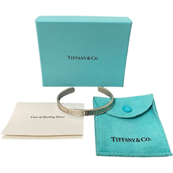 "Tiffany & Co. ""Atlas Cuff"" Bracelet Sterling Silver"
