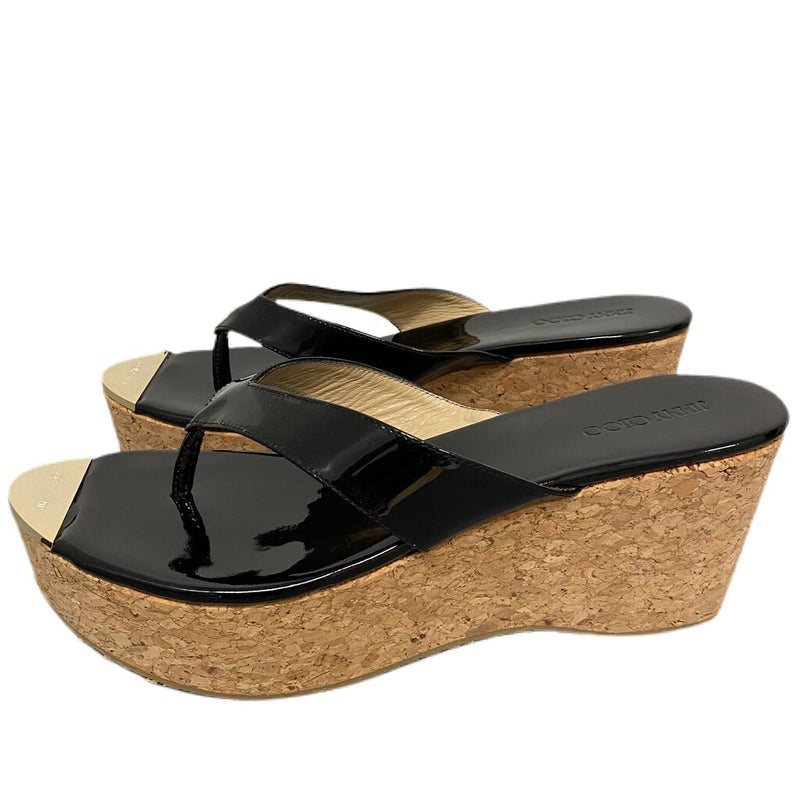 "Jimmy Choo ""121 Pathos"" Cork Wedges - Size 41"