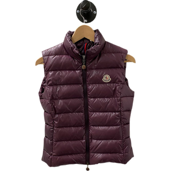 "Moncler ""Ghany Down Vest"" - Size 0"