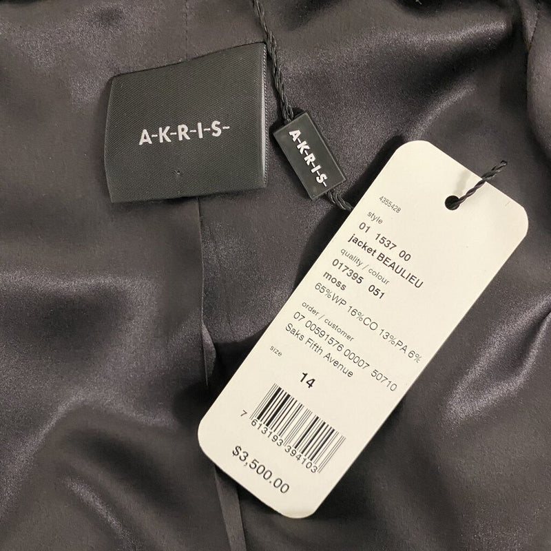 "Akris ""Beaulieu Jacket"" Blazer - Size 14"