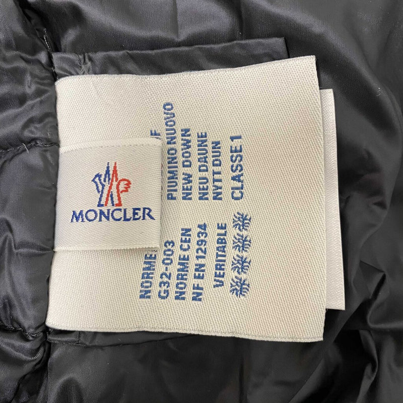 Moncler Quilted Down Jacket Hooded Coat - Moncler Size 3 Large
