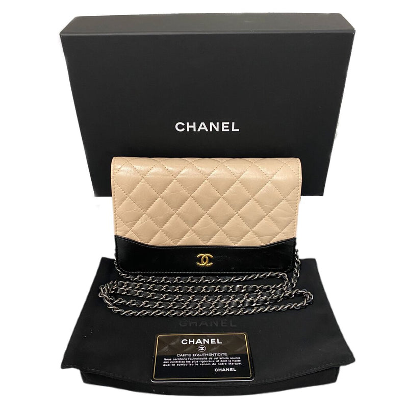 "Chanel ""Wallet on Chain"" Crossbody Bag"