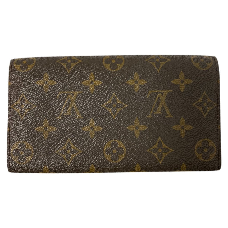 "Louis Vuitton ""Porte-Monnaie"" Monogram Canvas Wallet Pochette"