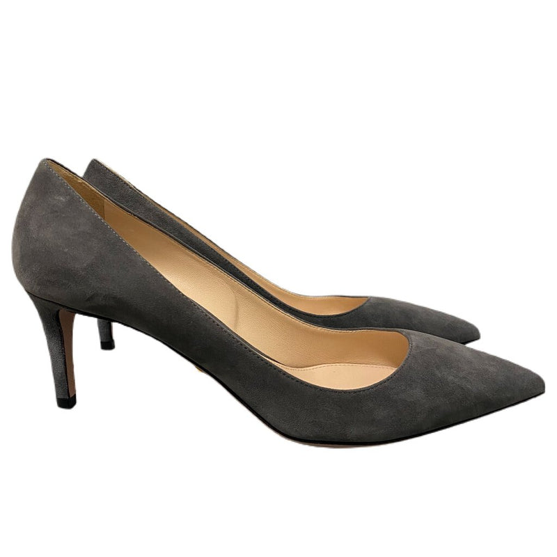 Prada Suede Pointed Toe Pumps Heels - Size 37.5