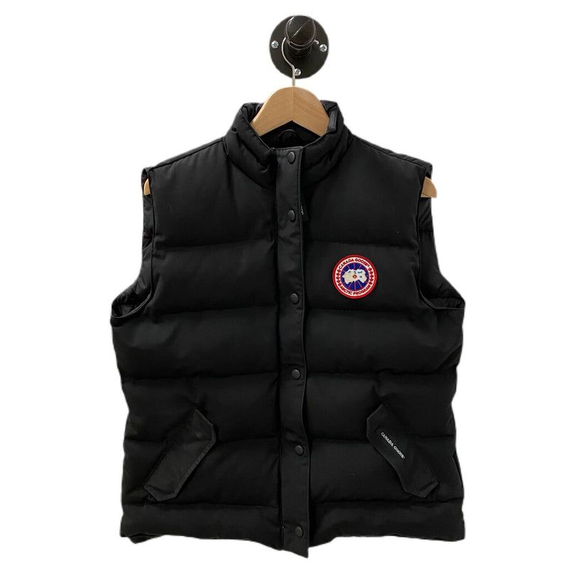 "Canada Goose Black ""Freestyle Down Vest"" - Size XLarge"