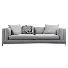 Load image into Gallery viewer, Carlton Grey Linen Fabric Cover Sofa