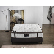 Load image into Gallery viewer, Roll Mattress, White and Brown, Double