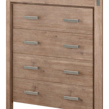 Load image into Gallery viewer, Tallboy, 4 Drawer, Oak