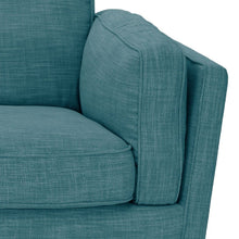 Load image into Gallery viewer, York Sofa, Teal, 2 Seater