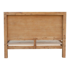 Bed Frame, Classic Oak, King Single