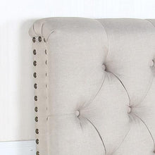 Load image into Gallery viewer, Headboard, Linen, Beige, Queen