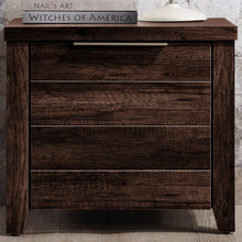 Load image into Gallery viewer, Bedside Table, Wenge, 50 x 40 x 45.6cm