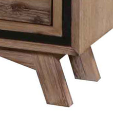 Load image into Gallery viewer, Bedside Drawers, Acacia and Veneer, 2 Drawers