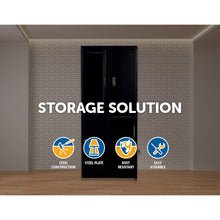 Load image into Gallery viewer, Four-Door Office Gym Shed Storage Locker