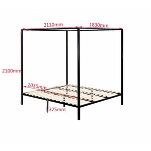 4 Poster Bed Frame, King