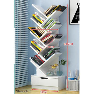 Tree Bookshelf, Multipurpose, 9-Tier