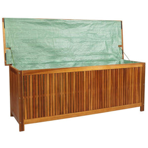 Garden Storage Box, Solid Acacia Wood, 150x50x58cm