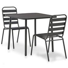 Load image into Gallery viewer, Bistro Set, Steel, Dark Grey (3 Piece)
