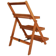 Load image into Gallery viewer, Plant Stand, Solid Acacia Wood, 3-Tier, 50x63x80cm