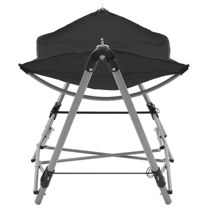 Hammock with Foldable Stand, Black