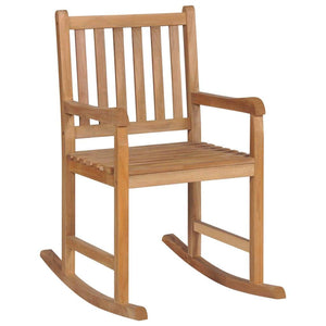 Rocking Chair, Solid Teak Wood