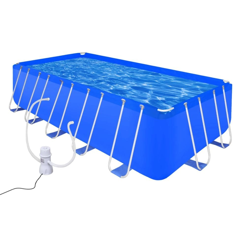 Swimming Pool, with Pump, Steel, 540x270x122cm