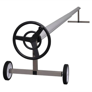Pool Cover Roller, with Stainless Steel Base