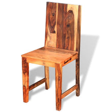 Load image into Gallery viewer, Dining Chairs, Solid Sheesham Wood (Set of 2)