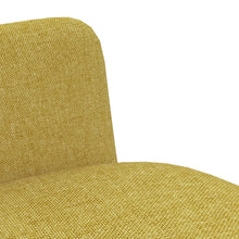 Load image into Gallery viewer, Dining Chairs, Fabric Upholstered, Yellow (Set of 2)