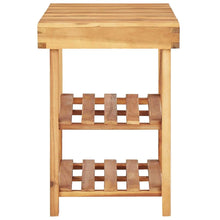 Load image into Gallery viewer, Shoe Rack, Solid Acacia Wood, 90x32x46cm