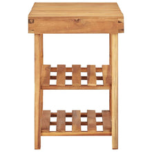 Load image into Gallery viewer, Shoe Rack, Slatted Design, Solid Acacia Wood, 90x32x46cm
