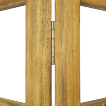 Load image into Gallery viewer, Room Divider/Trellis, 3-Panel, Solid Acacia Wood, 120x170cm