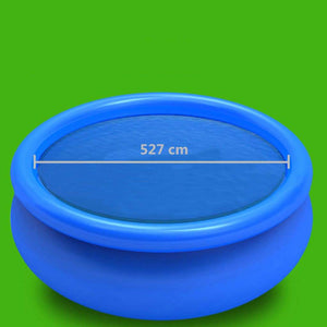 Pool Cover, PE, Blue, 527cm