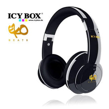 Load image into Gallery viewer, ICY BOX Big City Vibes Headphones - Black (IB-HPh2)