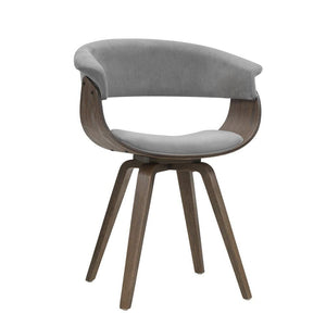 Monica Dining Chair, Upholstered, Grey