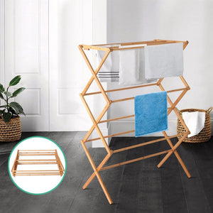 Clothes Drying Rack, Bamboo